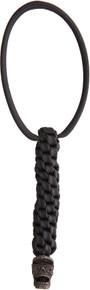 DPx Gear Mr. DP Black Oxidized Pewter Bead & Landyard
