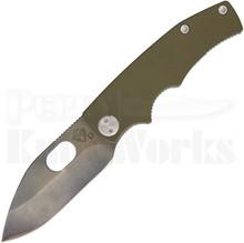 Medford Knife & Tool 187RMP OD Green Frame Lock Knife (Vulcan)