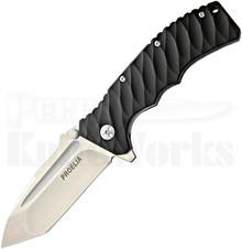 Defcon Blade Works Proelia Tanto Linerlock Knife (Stonewash)