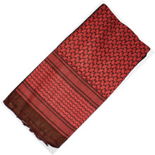 Red Rock Outdoor Gear Shemagh Head Wrap Red/BLK