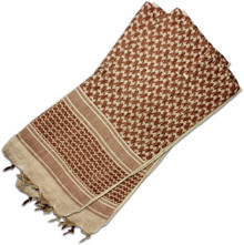 Red Rock Outdoor Gear Shemagh Head Wrap Tan/Brown
