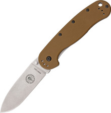 ESEE Avispa Coyote Brown Frame Lock Knife (Satin)