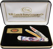 Case XX L&N Railroad Trapper Knife Set Limited (Satin)