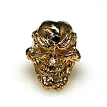 Schmuckatelli Grins Skull Bead (18KT)