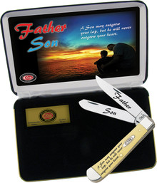 Case XX Father/Son Ltd Edition Trapper Knife (Satin)