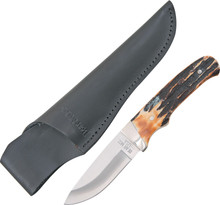 Bear & Son Pro Skinner Stag Bone Knife