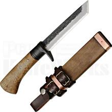 Kanetsune Knives Kage Tanto Fixed Blade Knife (Damascus)