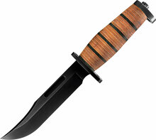 Buck Brahma Fixed Blade Knife (Black)
