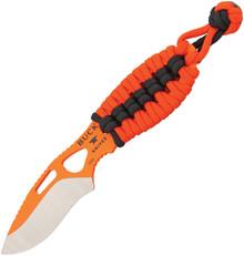 Buck PakLite Series Skinner Fixed Blade Knife (Orange/Black)