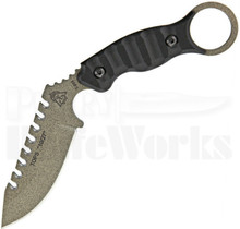 Tops 10/27 Saw Back Karambit Knife (Tactical Stone)