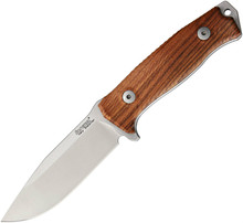 Lion Steel M5 Fixed Blade Knife Santos Wood (Satin)