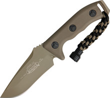 Microtech Currahee T/E Fixed Blade Knife (Tan)