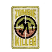 Rothco Zombie Killer Morale Patch (White & Gold)