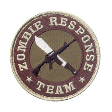 Rothco Zombie Response Team Morale Patch (Red & Brown)