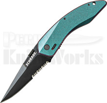 Schrade Landshark M.A.G.I.C Color Shift A/O Linerlock Knife (Black Ser.)