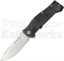 Viper Knives Ten Black G10 Framelock Flipper Knife (Satin)