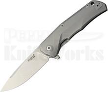 Lion Steel TRE Three Rapid Exchange Framelock Knife Bronze (Stonewash)