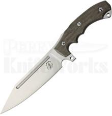 Bastinelli Creations Assaucalypse Fixed Blade Knife (Satin)