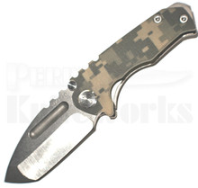Medford Knife & Tool Micro Praetorian G Dig Cam/Tumble Knife (Tumbled)