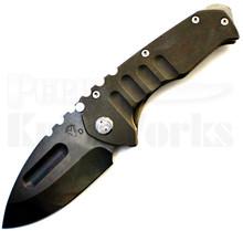 Medford Knife & Tool Praetorian T Bronze Anodized Knife (Vulcan)