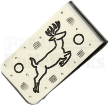 Brian Yellowhorse Custom Money Clip Deer