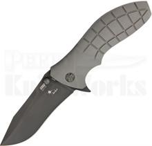HTM Kirby Lambert SNAP Assisted Linerlock Knife (Black DLC)
