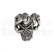 Schmuckatelli Jester Skull Bead (Pewter)