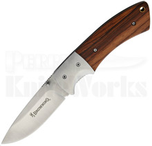 Browning Cocobolo Wood & S/S Bolsters Linerlock Knife (Satin)