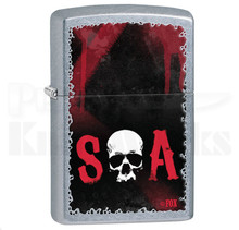 Zippo Sons Of Anarchy Street Chrome Lighter