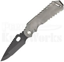 Medford Knife & Tool Arktika Tumbled Frame Lock Knife (Black PVD)