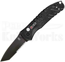 Gerber Propel A/O Black Plunge Lock Knife (Black Serr)