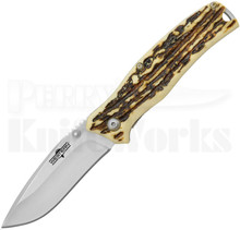 Western Knives Pronto 7 Drop Point Linerlock Knife (Ti Bonded)