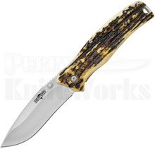 Western Knives Pronto 8 Drop Point Linerlock Knife (Ti Bonded)