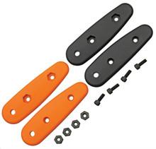 Becker BK14 Handle Scales - Orange & Black