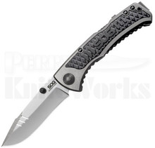 SOG Sideswipe Mini Assisted Opening Lockback Knife (Bead Blast)