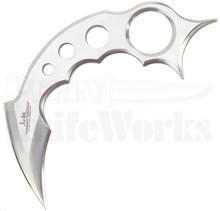 Gil Hibben Claw II Karambit Fixed Blade Knife (Satin)