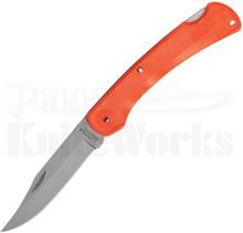 Marbles Brushy Mountain Orange Lockback Knife