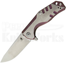 Kizer Cutlery Kesmec Purple Framelock Knife