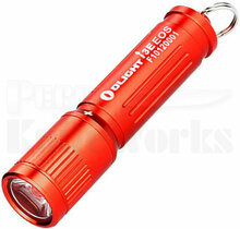 Olight I3E EOS Keychain Flashlight Red