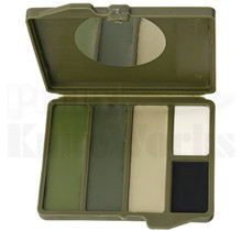 Camouflage Face Paint Woodland 5-Color Compact