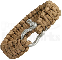 Colt SPEAR Survival Bracelet Coyote Tan