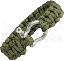 Colt SPEAR Survival Bracelet OD Green