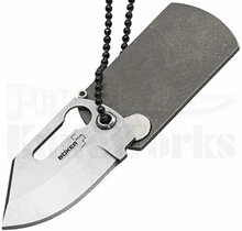 Boker Plus Kubasek Dog Tag Knife