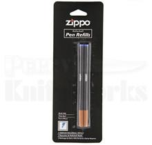Zippo Roller Ball Ink Pen Refill 2-Pack (Blue)