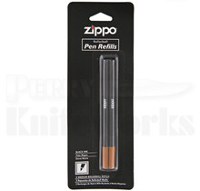 Zippo Roller Ball Ink Pen Refill 2-Pack (Black)