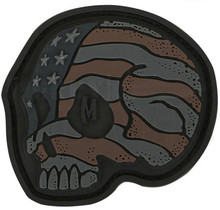 Maxpedition Stars & Stripes Skull Patch (Stealth)