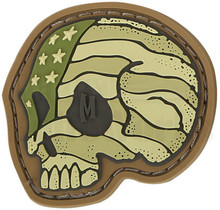 Maxpedition Stars & Stripes Skull Patch (Arid)