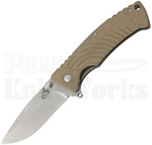 Colt Carved Tan G10 Linerlock Knife (Stonewash) CT669