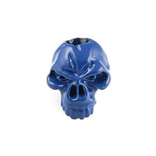 Schmuckatelli Emerson Skull Bead (Blue)