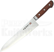 "Al Mar Ultra Chef Gyuto Knife Cocobolo (9.5"" Damascus) AM-UC9"